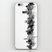 south africa iPhone & iPod Skins featuring Pretoria South Africa Skyline by artPause