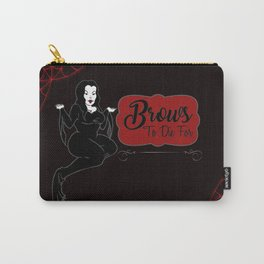 Brows to die for Carry-All Pouch