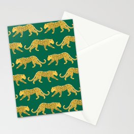 The New Animal Print - Emerald Stationery Cards