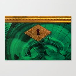 Malachite Box 4 Canvas Print