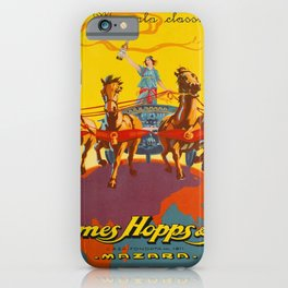 retro retro il marsala classico james hopps poster iPhone Case