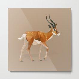 Gazelle. Metal Print