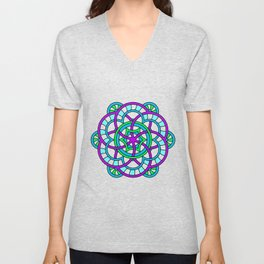 Celtic | Colorful | Mandala Unisex V-Neck