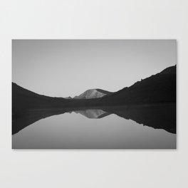 Cataract Lake Reflection - Weminuche Wilderness Canvas Print