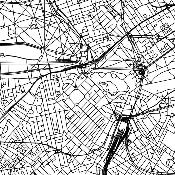 London White Map Leggings