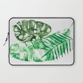 Palm Leaves-Banana, Coconut, Monstera Laptop Sleeve