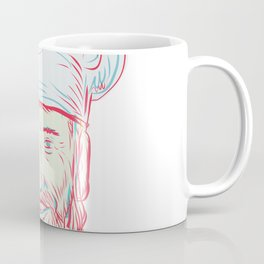 Hipster Baker Cook Chef Head Coffee Mug
