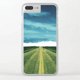 Lost Horizon2 Clear iPhone Case