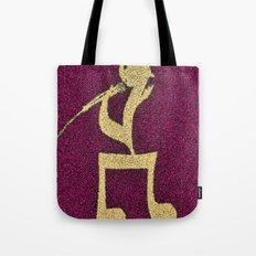 A singer on my doormat Tote Bag