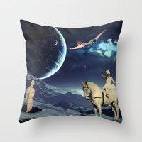 circus Throw Pillows featuring Circus by Cs025