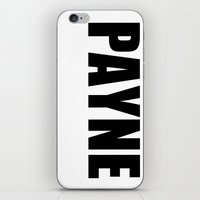 liam payne iPhone & iPod Skins featuring Liam Payne by acid&pizza