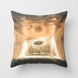 Spark Art Throw Pillow