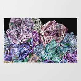 Crystal Mountain Ultraviolet Rug