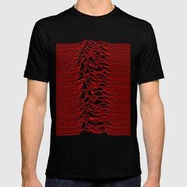 Joy Division - Unknown Pleasures [Red Lines LP] T-shirt