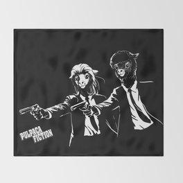 Pulpaca Fiction Pulp Fiction Throw Blanket