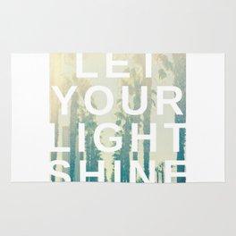 Let your light shine Rug