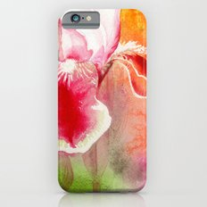 Iris, Magenta, Orange, Green DdFlowers iPhone 6s Slim Case