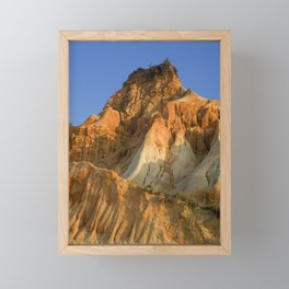 Falesia cliffs, Portugal Framed Mini Art Print