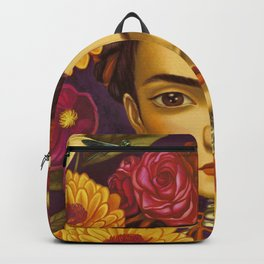 Frida Flowers Backpack