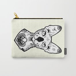 Sphynx Tattooed Carry-All Pouch