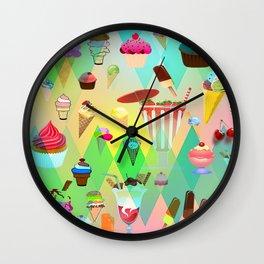 ice crim Wall Clock
