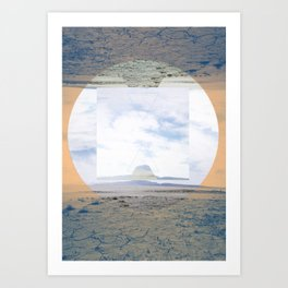 seamlessly run Art Print