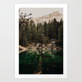 Lac Verde /// Valle Etroite Art Print