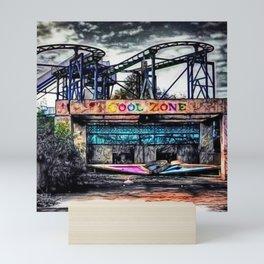 The Cool Zone, Landscape Portrait by Jeanpaul Ferro Mini Art Print