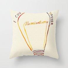 Lizzie Bennet #1 Throw Pillow