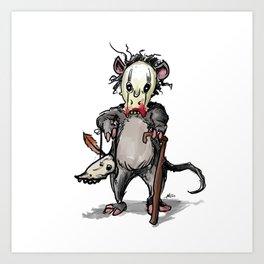 The Rat Doctor Art Print