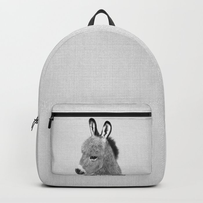 Donkey - Black & White Backpack