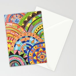 Overlay mandala  Stationery Cards