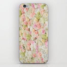 Flower Wall iPhone Skin