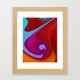 fluid -13- Framed Art Print