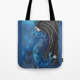 The Seal Woman Tote Bag