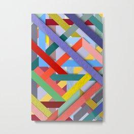Abstract #288 Metal Print
