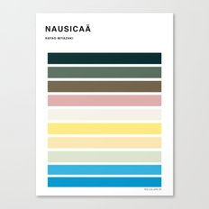 The colors of - Nausicaa Canvas Print