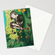 Skunk Picnic Stationery Cards