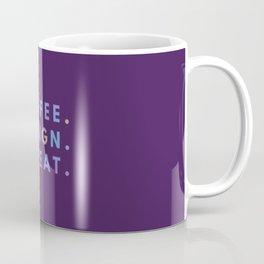 Coffee Design Repeat Coffee Mug