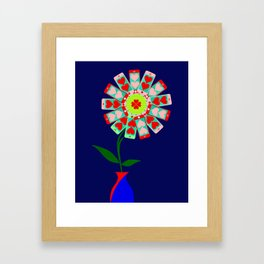 Modern Love Framed Art Print