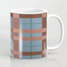 Urban Earth Tone Plaid  Mug