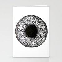 iris Stationery Cards featuring Iris by ECMazur