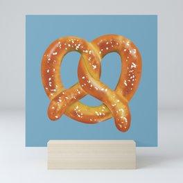 Pretzel Love Mini Art Print