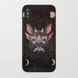 Monstrous beauty pollinator I iPhone Case
