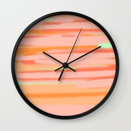 Spring is light no. 3 Wall Clock