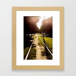 Neutral Ground Framed Art Print