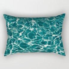 SEA - blue , white ocean , waves , clear , clarity Rectangular Pillow