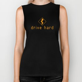 Drive Hard v2 HQvector Biker Tank