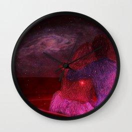 Galactic Honeymoon Wall Clock