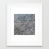 wood Framed Art Prints featuring wood by Artemio Studio